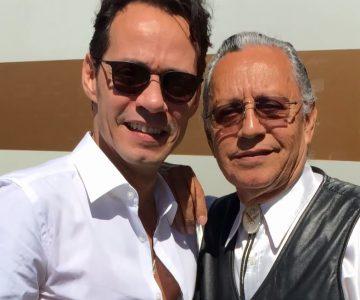 """2 generaciones: @MarcAnthony su padre @FelipeMMusic se juntan para cantar """"Dejé de Amar"""""""