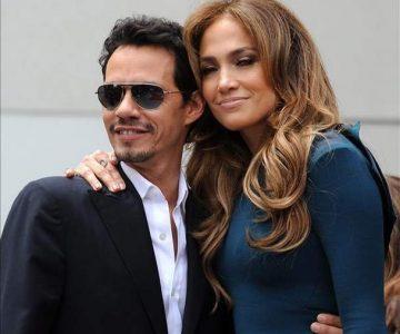 Marc Anthony y Jennifer López encienden el Grammy con beso