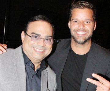 Gilberto Santa Rosa fascinado con show de Ricky Martin