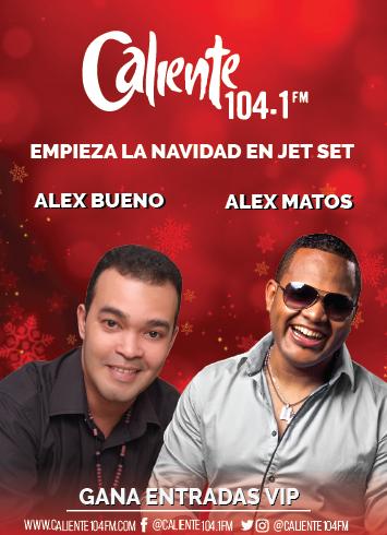ALEX BUENO Y ALEX MATOS