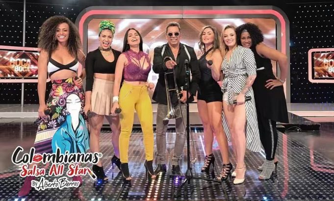 Colombianas Salsa All Star by Alberto Barros