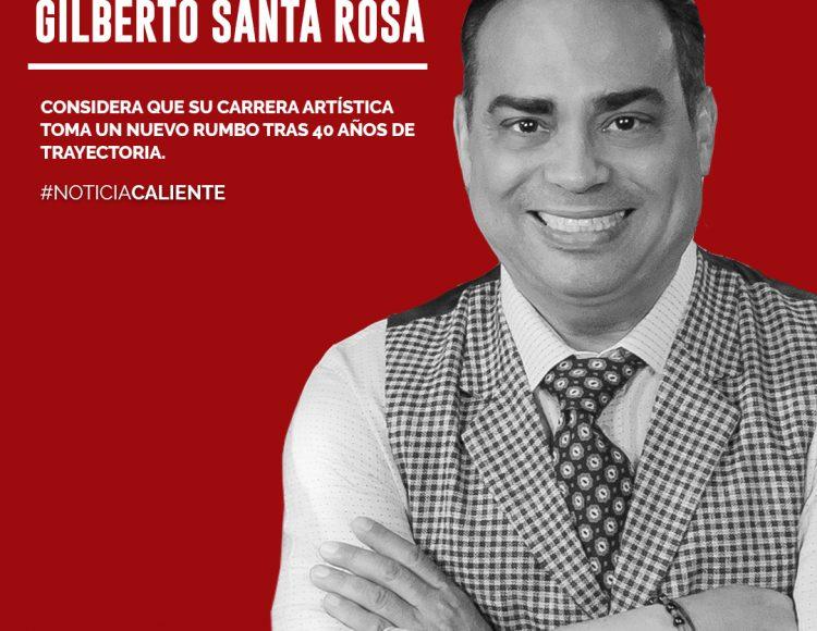 Gilberto Santa Rosa considera que su carrera artística toma un nuevo rumbo tras 40 años de trayectoria