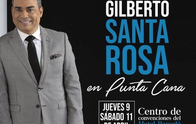 GILBERTO SANTA ROSA, EL CABALLERO DE LA SALSA – INTIMO – EN PUNTA CANA