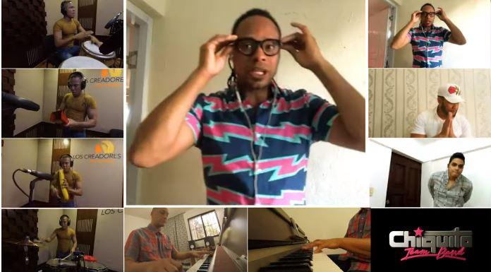 Chiquito Team Band  estrena versión en salsa de Sumérgeme | Video