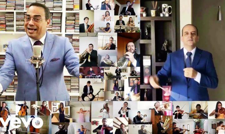 Gilberto Santa Rosa y la sinfónica de Caldas interpretan «Canta mundo» del Dominicano Manuel Troncoso